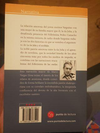 La tía Julia y el escribidor. Vargas Llosa