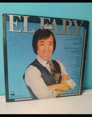 Vinilo El Fary - dedicatoria 1983.