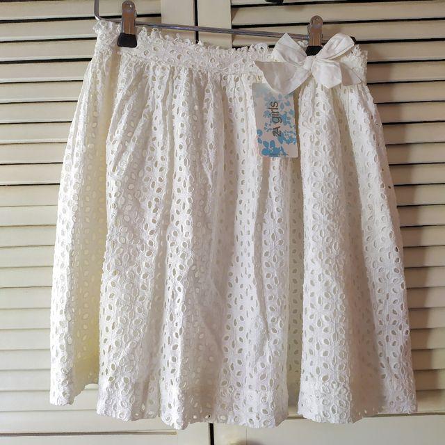 Falda algodón niña