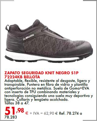 Zapato seguridad Bellota
