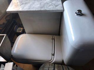 Inodoro gris