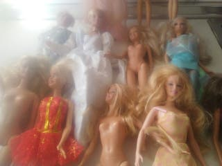 lote de muñecas Mattel