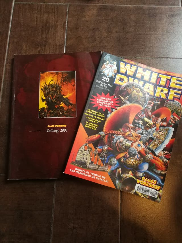 Catálogo oficial WARHAMMER 2003