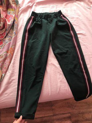 Pantalones de pinza