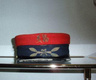 Antigua gorra de factor de circulación de renfe