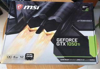 Tarjeta gráfica nvidia GeForce GTX 1050 Ti NUEVA