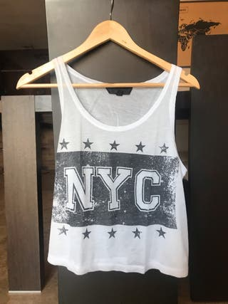 Camiseta de tirantes de Top Shop