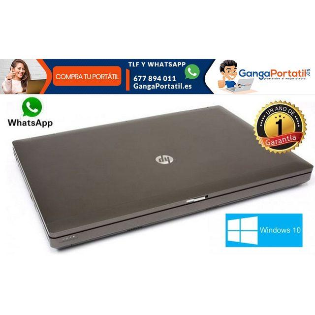 """Portátil Hp ProBook 6570b, 15,6"""" / i5 / Cam / 500G"""