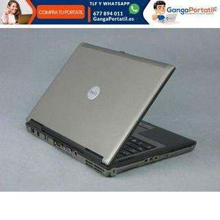 Portátil Dell D620, Puerto Serie Rs232 / Dvd / Win