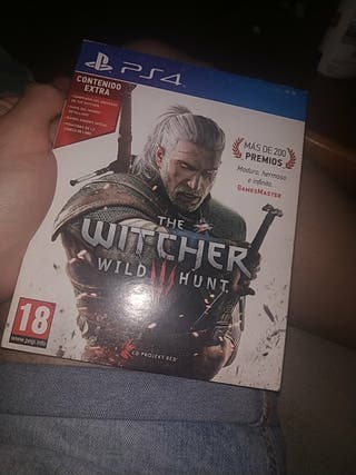 The Witcher 3 edición especial PS4