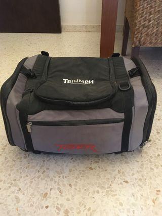 maleta viaje triumph