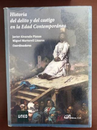 Historia del delito y del castigo.