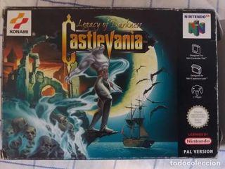 Castlevania Legacy Of Darkness para Nintendo 64.