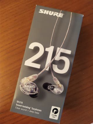 Auriculares SHURE E215