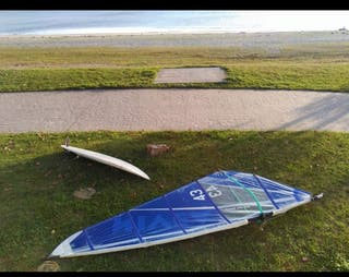 equipo windsurf segunda mano