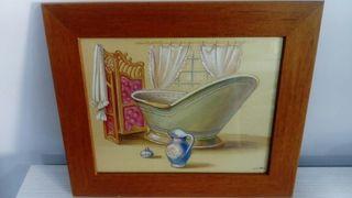 cuadro wc