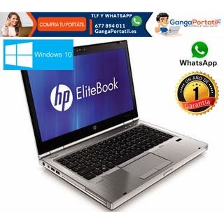Portátil Hp EliteBook Hp 8460p, i7 / 500 Gb / 8 Gb