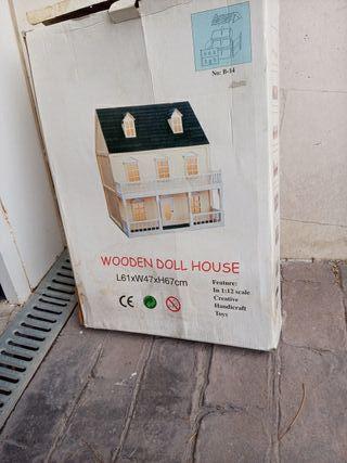 casa de muñecas para montar
