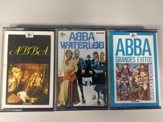 ABBA tres cassettes