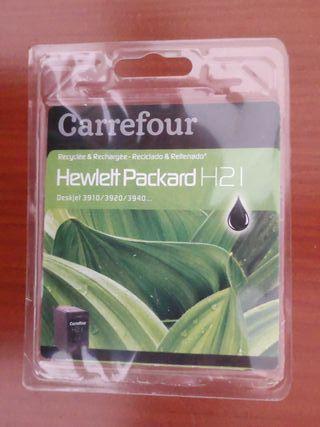 Cartucho Tinta HP21 para impresoras HP