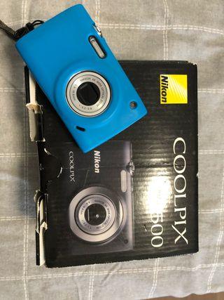 Cámara Nikon coolpix s2500