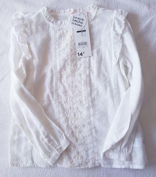 Blusa TEX talla 4-5.