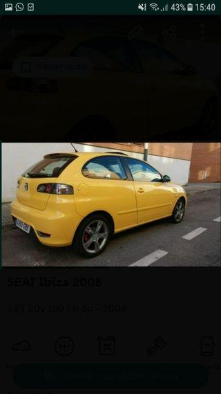 Llantas seat Ibiza fr 6l cupra 1.8t 20vt