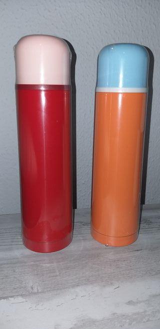 Termo líquido acero inox. con vaso NUEVO 500ml.
