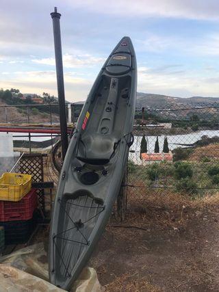 Kayak de pesca completo