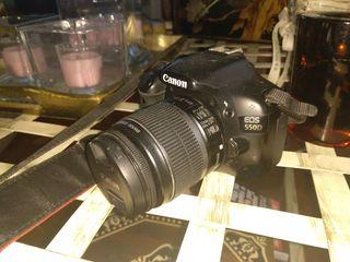 Canon 550D + objetivo