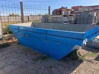 contenedores de obra - para escombro.