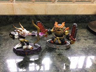 2 figuras Skylanders Imaginators