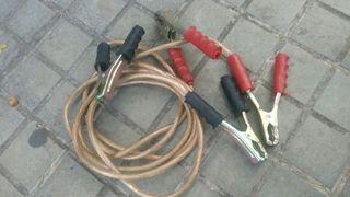Pinzas de arranque batería coche y camión