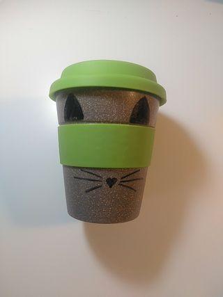 Termo vaso café infusión bambú