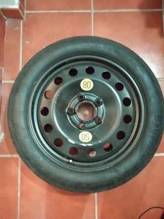"""rueda de repuesto temporal BMW 17"""""""