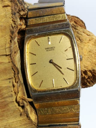 Seiko reloj, señora ,Vintage, color oro