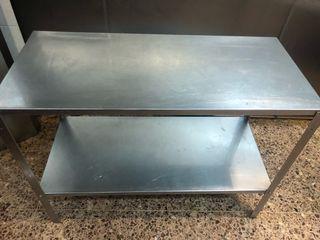 mesas de acero inoxidable para cocina