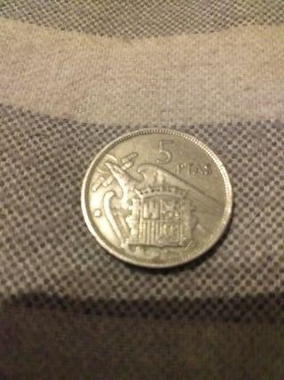 moneda española antigua.