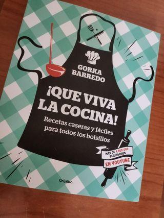 Que viva la cocina! Libro Nuevo