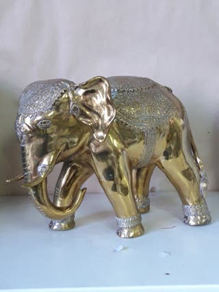 Elefante bronce thailandes
