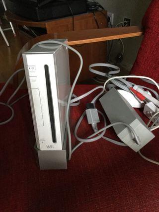 Consola Wii con juegos y accesorios