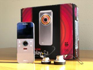 Videocamara Kodak PlayFull Full HD 1080 + Objetivo
