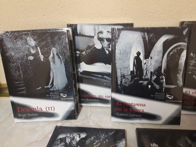 Novelas de suspense y Terror. ediciones Rueda