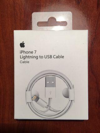 Cable cargador original iPhone iPad