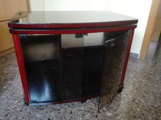 Mueble auxiliar de tv giratorio