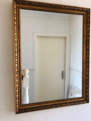 Espejo dorado 56 x 72