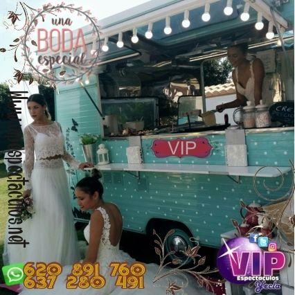 caravana Foodtrack vintage Vip