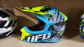 vendo casco enduro ufo intrepid