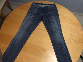 Vaquero jeans Levis Azul Mujer