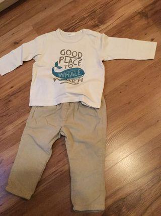 Ropa bebé niño 3 meses.